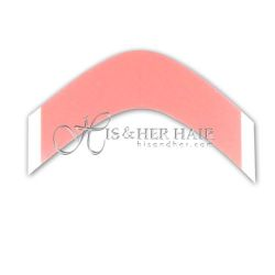 Deep Curved Red LIner Tape Bag
