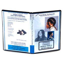 DVD for Goddess, Casamas, French Twist & French Braid