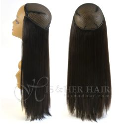 Magic Extensions in Natural Perm Straight hair - ITALIAN MIN...