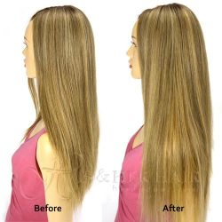 Magic Extensions in Silky Straight Hair - ITALIAN MINK® 100%...