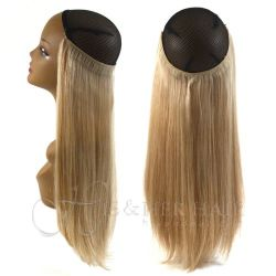 Magic Extensions in Silky Straight Hair - REGULAR 100% Human...