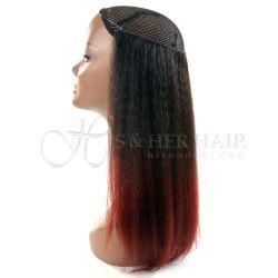 Magic Extensions in Kinky Straight hair - ITALIAN MINK® 100%...