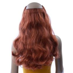 French Bodywave Clip on Set, Color #31, Red Copper.  100% Hu...