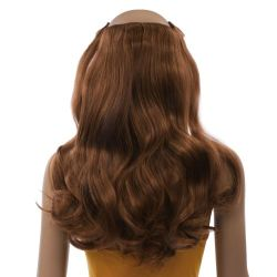 French Bodywave Clip on Set, Color #30, Medium Auburn.  100%...