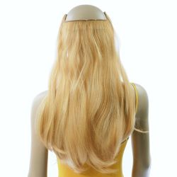 French Bodywave Clip on Set, Color #22/33D, Light Blonde/Lig...