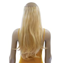 French Bodywave Clip on Set, Color #22/27, Light Blonde/Stra...