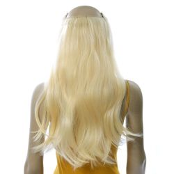 French Bodywave Clip on Set, Color #22, Light Blonde.  100% ...