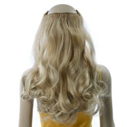 French Bodywave Clip on Set, Color #18/22, Light Ash Brown/L...