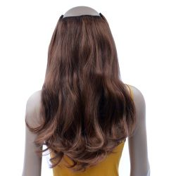 French Bodywave Clip on Set, Color #4/30, Medium Brown/Mediu...