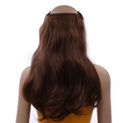French Bodywave Clip on Set, Color #4, Medium Brown.  100% H...