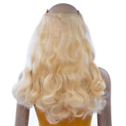 French Bodywave Clip on Set, Color #24, Golden Blonde.  100%...