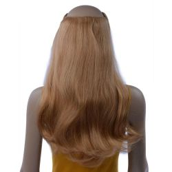 French Bodywave Clip on Set, Color #27, Honey Blonde.  100% ...