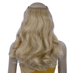 French Bodywave Clip on Set, Color #18/24(=8/24), Light Ash ...