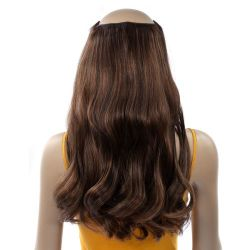 French Bodywave Clip on Set, Color #2/6, Dark Brown / Light ...