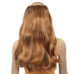 French Bodywave Clip on Set, Color #6/33D, Light Brown / Lig...