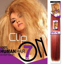 Clip Set Silky Straight - 7 Pcs.