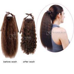 Human Hair Ponytail  - European Wave 14