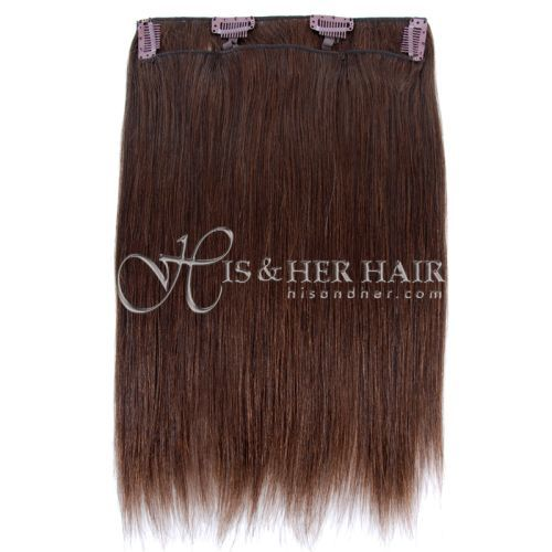 "Clip Set Natural Perm Straight in 14"" - 5 Pcs."