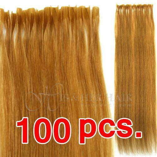 U-Tip - Cuticle® - Silky Straight (100 PCS.)