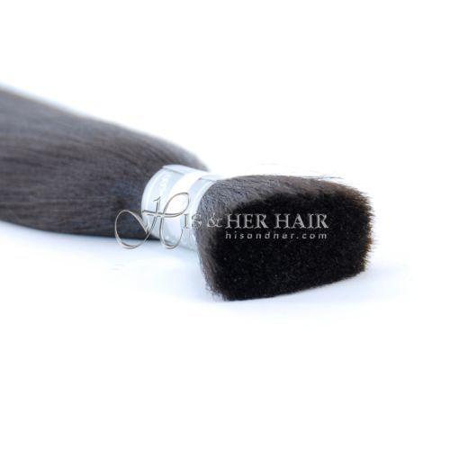 50% Italian Mink® Natural Perm Straight for Braiding