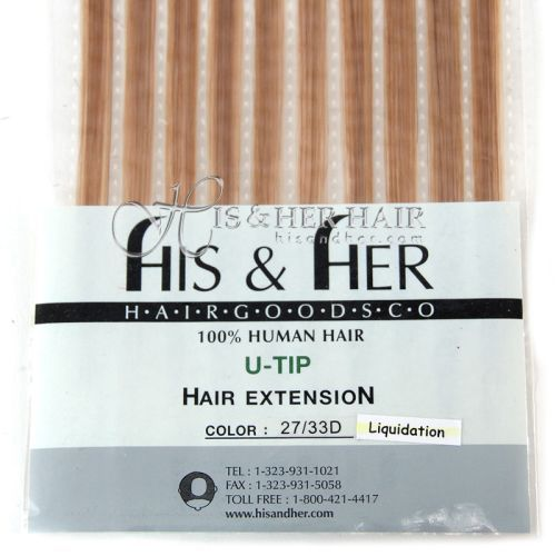 U-Tip - Silky Straight - SALE