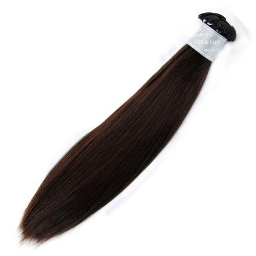 50% Italian Mink® - Handtied Weft Natural Perm Straight