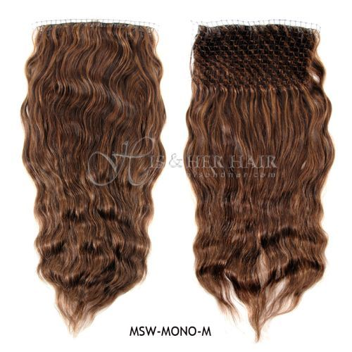 Magic Self Top - Mono Handtied Bodywave 18""