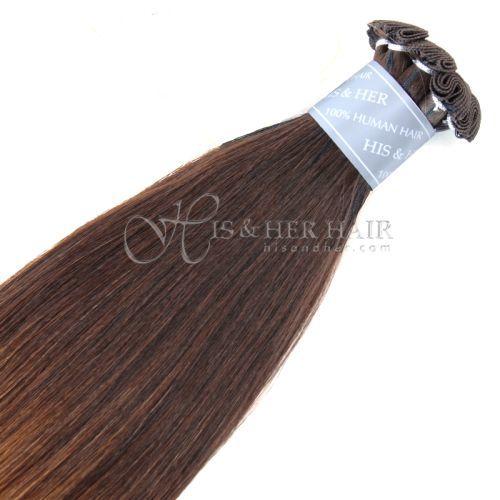50% Italian Mink® - Handtied Weft Natural Perm Straight Ombre