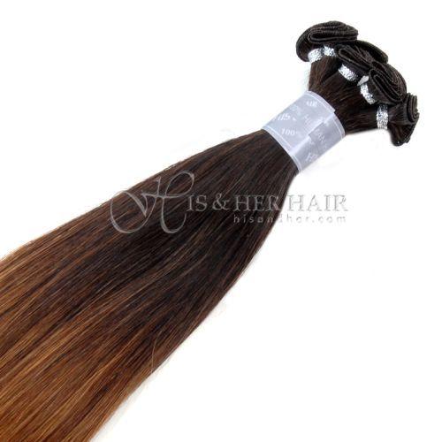 50% Italian Mink® - Handtied Weft Silky Straight Ombre