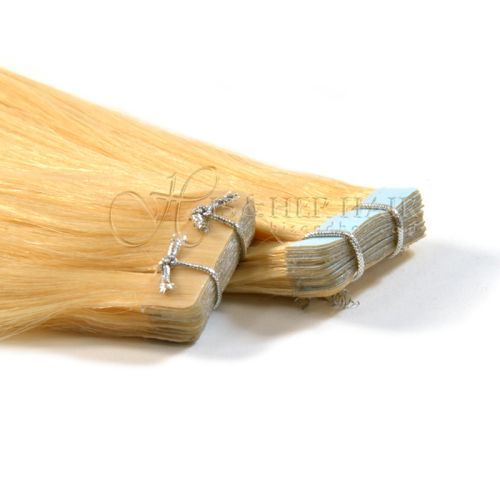 "Tape Hair Extensions 18"" Silky Straight  - Sale"