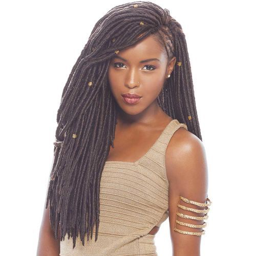 SYNTHETIC MAMBO FAUX LOCS - 18""
