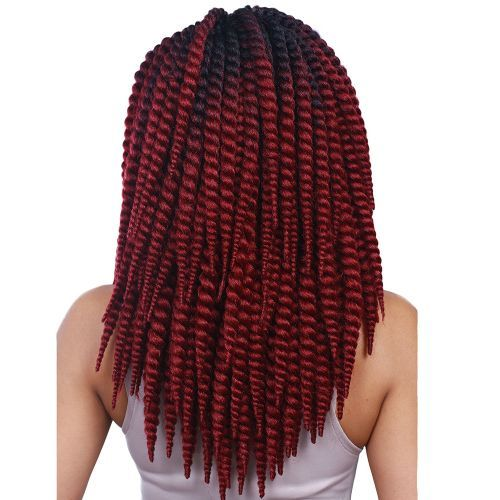 SYNTHETIC SKINNY TWIST