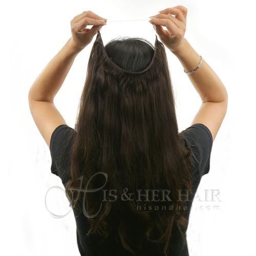 Magic Extensions in Silky Straight Hair - REGULAR 100% Human Hair -12""