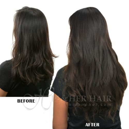 Magic Extensions in European Wave Hair - ITALIAN MINK® 100% Human Hair