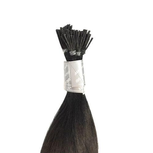 "[SPECIAL-I-TIP-6LL]HM-Pre Glue I Shape Silky Straight 20-22"""