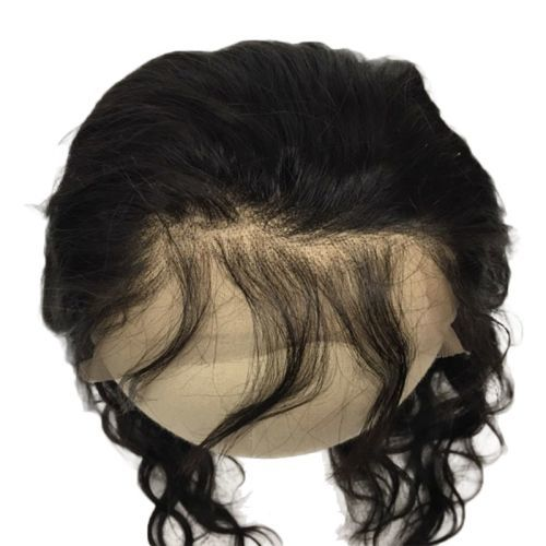 "LACE FRONTAL (4"" X 13"") - 16"" YAKI STRAIGHT WITH BABY HAIR"
