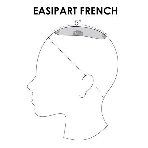 EASI PART FRENCH 8""