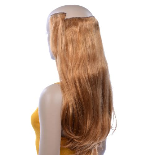 French Bodywave Clip on Set, Color #33D, Light Auburn.  100% Human Hair, ITALIAN MINK®