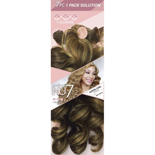 7 Pcs. One Pack Solution - Syn. Super Curl