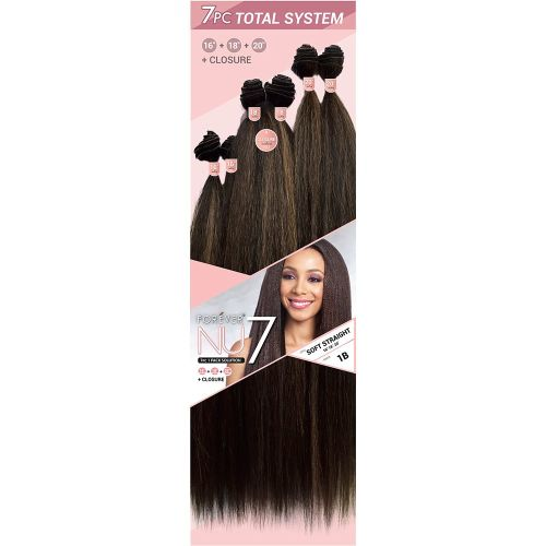 7 Pcs. One Pack Solution - Syn. Soft Straight
