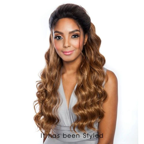 """FRONTAL LACE WIG LOOSE WAVE 24""""(MLF03)"""