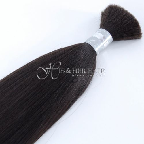 50% Italian Mink® Natural Perm Straight for Braiding - SALE