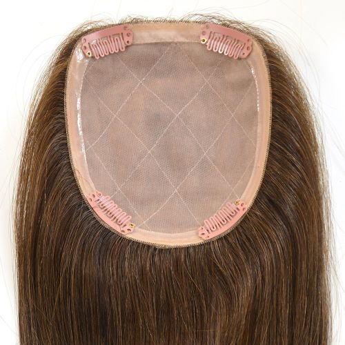 "Part Double Base - 4.5"" x 5"" Silky Straight"