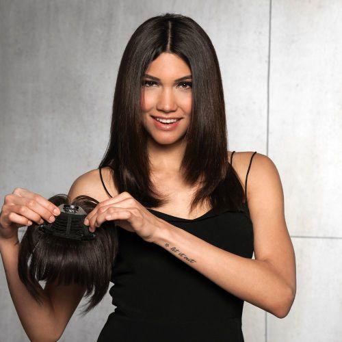 Clip-In Human Hair Bang by Hair Do