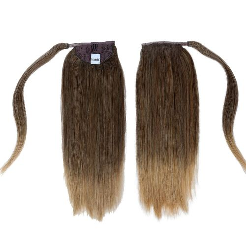 "Wrap Around Human Hair Pony 16"" by Hair Do"