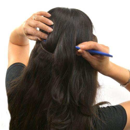 "18"" Magic Extensions in Natural Perm Straight - ITALIAN MINK® 100% Human Hair"