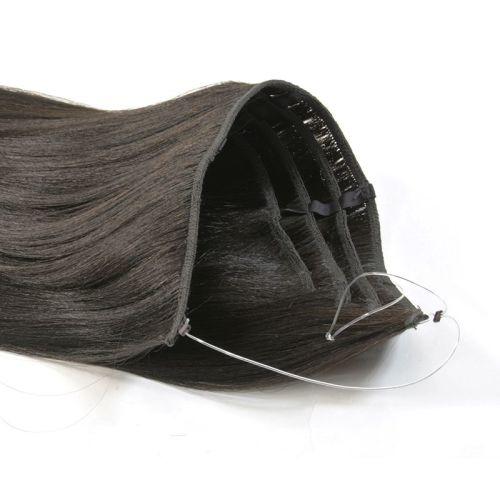 "18"" Magic Extensions in Natural Perm Straight - REGULAR 100% Human Hair"