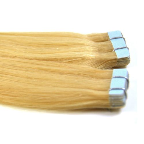 """Tape Hair Extensions 18"""" Silky Straight  - Sale"""