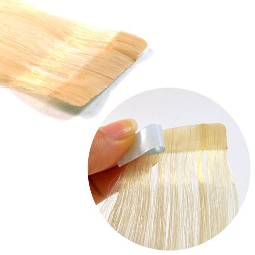 "Tape Hair Extensions 22"" Silky Straight  - Sale"