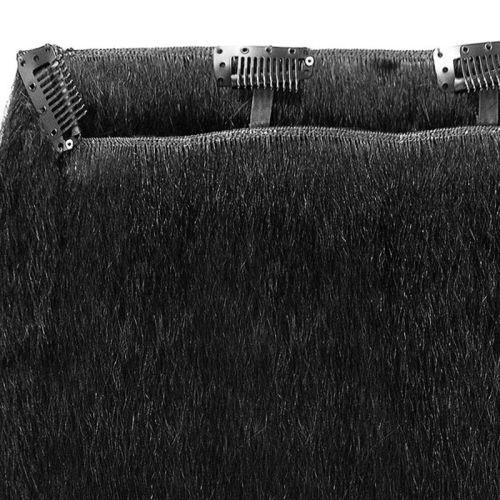 2 Layered Clip Weave - Kinky Straight